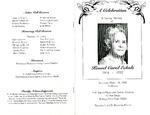 Funeral Programs-Book 1 (E-H)