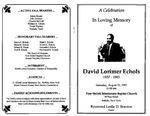 Funeral Programs-Book 2 (E-H)