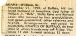 Newspaper Obituaries; Book 1 (A-D)