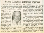 Newspaper Obituaries; Book 1 (E-H) by Afro-American Historical Association of the Niagara Frontier