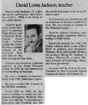 Newspaper Obituaries; Book 1 (I-L)