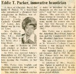 Newspaper Obituaries; Book 1 (P-S)