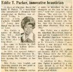 Newspaper Obituaries; Book 1 (P-S)