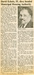Newspaper Obituaries; Book 2 (E-H) by Afro-American Historical Association of the Niagara Frontier