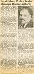 Newspaper Obituaries; Book 2 (E-H)
