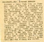 Newspaper Obituaries; Book 2 (M-O)