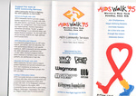 Pamphlet for Aids Walk '95 by AIDS Community Services of Western New York