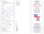 Spirituality Compassion Action Pamphlet by Episcopal Diocese AIDS Commission