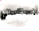 Albright Building, Grounds (3) by The Buffalo Courier-Express Newspaper