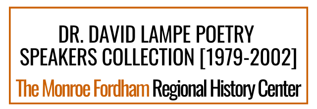 Dr. David Lampe Poetry Speakers Collection [1979-2002]