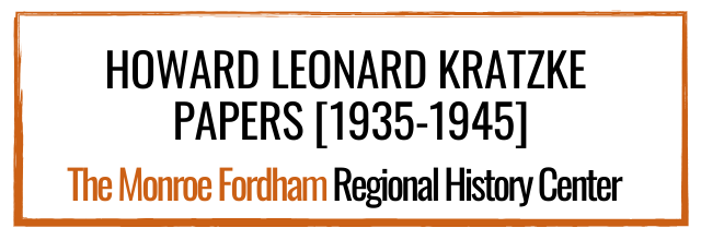 Howard Leonard Kratzke Papers