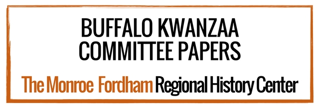 Buffalo Kwanzaa Committee Papers