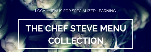 Chef Steve Menu Collection