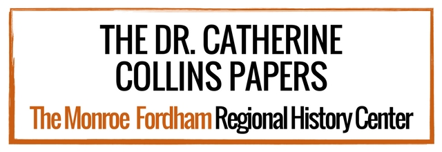Personal Papers: Collins, Dr. Catherine