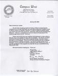 Personal Correspondence; 2000-2009