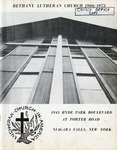 Church Directory; 1906-1973 by Bethany Evangelical Lutheran Church