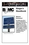 Singer's Handbook, Third Edition by Buffalo Gay Men's Chorus
