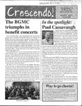 Crescendo!, Spring 2006 by Buffalo Gay Men's Chorus