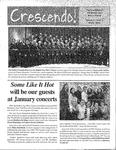 Crescendo!, Winter 2005 by Buffalo Gay Men's Chorus