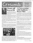 Crescendo!, Winter 2006 by Buffalo Gay Men's Chorus