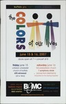 The Colors of Our Lives by Buffalo Gay Men's Chorus