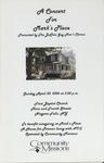 A Concert for Mark's Place by Buffalo Gay Men's Chorus