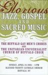 Glorious Jazz, Gospel, and Sacred Music by Buffalo Gay Men's Chorus