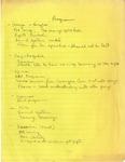 Committee Meetings; 1988