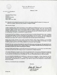 Letter to Governors; Feb 7, 2001 by Buffalo Quarters Historical Society