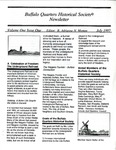 Newsletter; 1997 by Buffalo Quarters Historical Society
