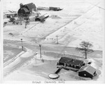 Aerial view of Holland Glenwood Rd. by The Buffalo Courier-Express Newspaper