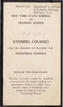 College Catalog, 1918-1919, Evening Courses by Buffalo State College