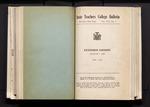 College Catalog, 1940-1941, Extension
