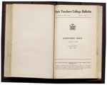 College Catalog, 1942-1943, Extension