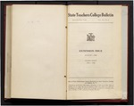 College Catalog, 1944-1945, Extension