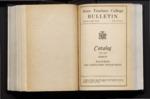 College Catalog, 1937-1938