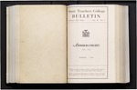 College Catalog, 1934-1935, Announcements