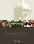 College Catalog, 2008-2010, Graduate