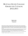 College Catalog, 2012-2013, Graduate