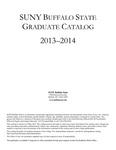 College Catalog, 2013-2014, Graduate