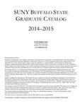 College Catalog, 2014-2015, Graduate