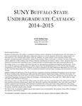 College Catalog, 2014-2015
