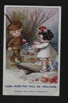 Welcomed Alliance (1) by WWI Postcards from the Richard J. Whittington Collection