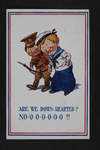 """Are We Down-Hearted?"" Propaganda (1) by WWI Postcards from the Richard J. Whittington Collection"