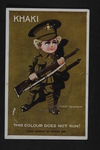 """This Colour Does Not Run!"" (1) by WWI Postcards from the Richard J. Whittington Collection"
