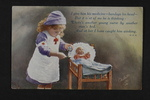 British Child Nurse (1) by WWI Postcards from the Richard J. Whittington Collection