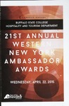 21st Annual Western New York Ambassador Awards by Buffalo State College Hospitality and Tourism Department