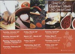 Spring 2012 Operations & Special Events by Campus House