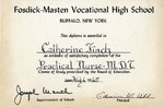 Awards; 1965-08-06; Fosdick-Masten Vocational High School, Diploma by Catherine Collins