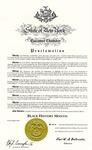 Awards; 2009-02-01; Black History Month Proclamation
